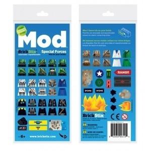 Brickstix Mod: Special Forces 60 Stickers