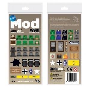 Brickstix Mod: Wwii 56 Stickers