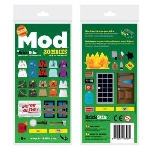 Brickstix Mod: Zombies 44 Stickers
