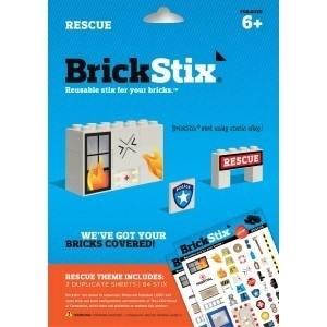 Brickstix Mod: Rescue 84 Stickers