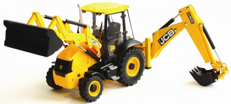 Britains JCB 3CX Dieplepel Lader (42702)
