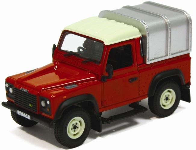 Britains Land Rover Defender 90 Met Laadkap (42732)