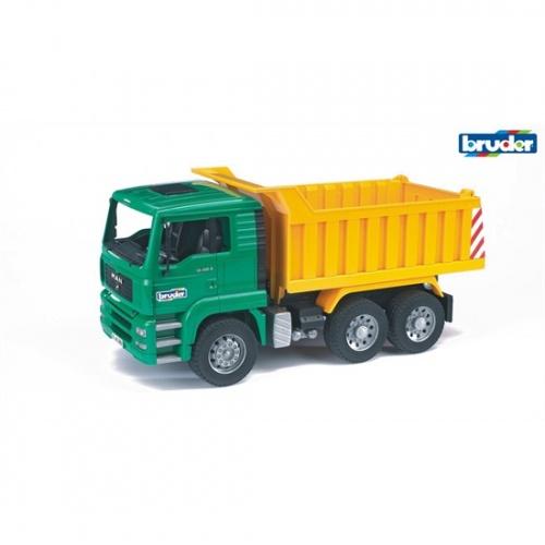 Bruder Man TGA Vrachtwagen Met Kiepbak (02765)
