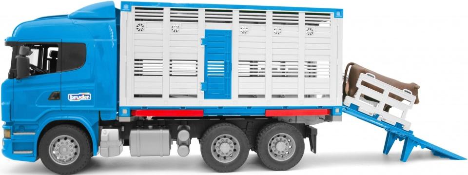 Vrachtwagen Scania Diertransport