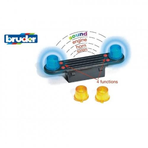 Bruder Licht en Geluid Module (02801)
