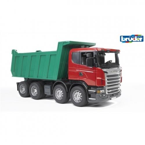 Bruder Scania R Met Kiepbak (03550)