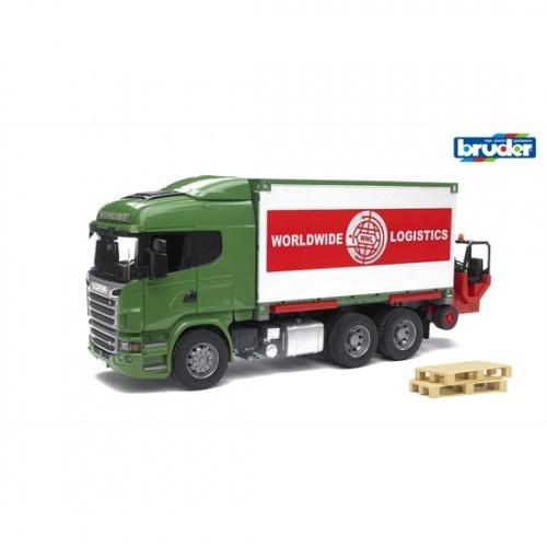 Bruder Scania R Vrachtwagen Met Container (03580)
