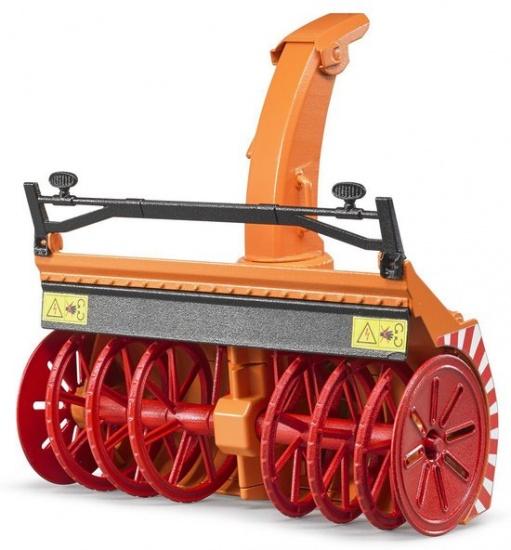 Bruder sneeuwblazer oranje