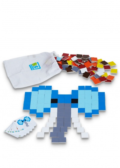 BS Toys Pixel Kunst 4 cm 150 stukjes