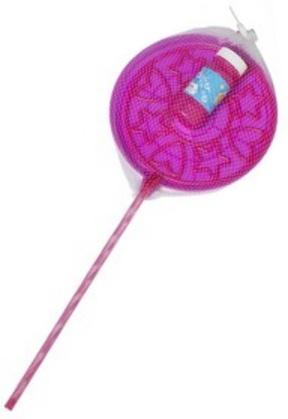 Bubblez Bellenblaas set 2 delig 118 ml 21 x 54,5 cm roze