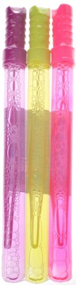 Bubblez bellenzwaarden 34 cm 118 ml paars/geel/roze 3 stuks