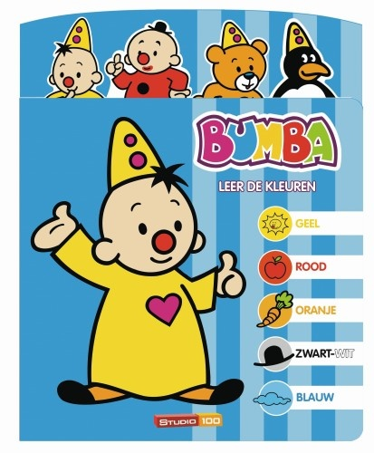 Studio 100 Kartonboek Bumba Leer De Kleuren