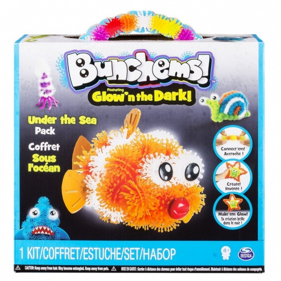 Spin Master Bunchems theme pack Under the sea 200 delig