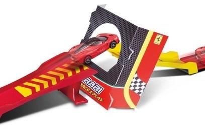 Burago Ferrari launch set 1:43 rood