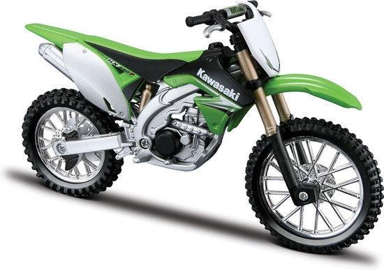 Burago Motor Kawasaki KX 450F 1:18