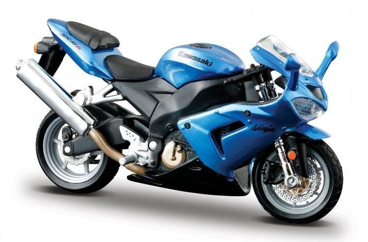 Burago Motor Kawasaki Ninja ZX 10R 1:18