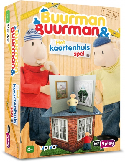 Just2play Buurman en Buurman kaartenhuis