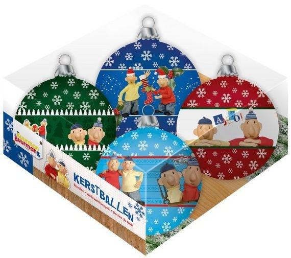 Buurman en Buurman kerstballen Buurman en Buurman 4 delig 8 cm kopen
