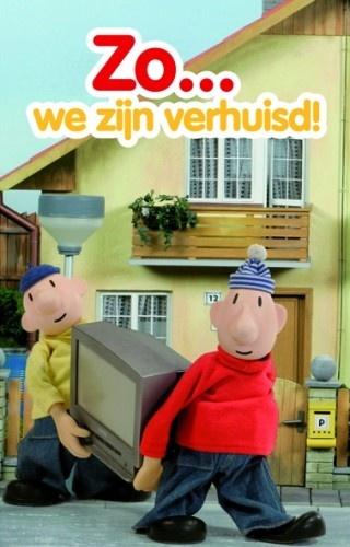 Buurman en Buurman Verhuiskaart Set Van 6