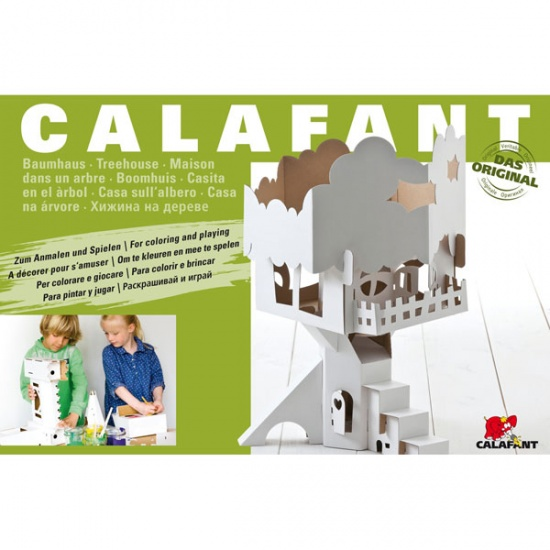 Calafant Vouwset Level 3 large: Boomhuis
