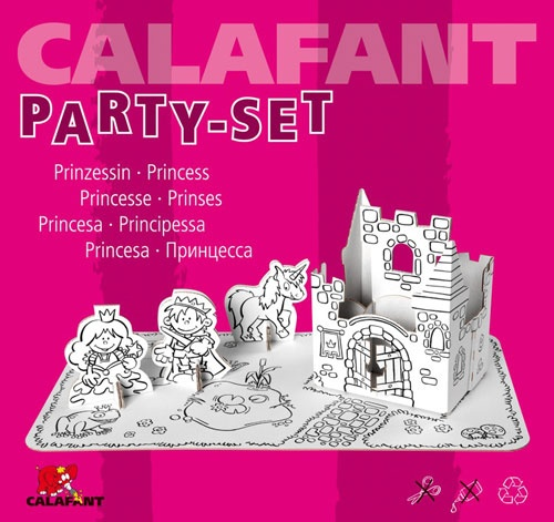 Calafant Party set losse aanvulling: Prinses