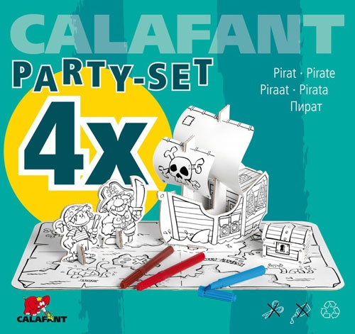 Calafant Party set: Piraten