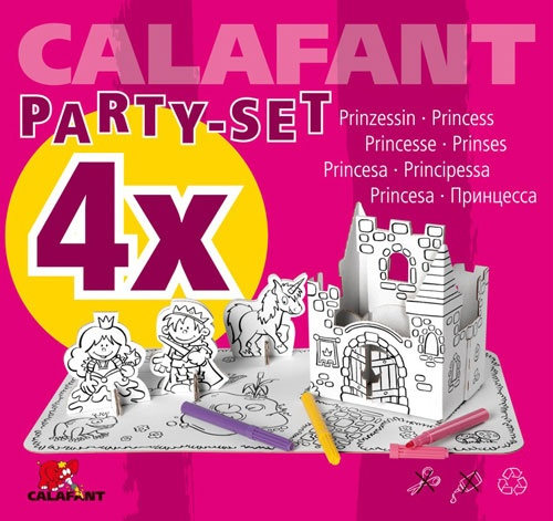Calafant Party set: Prinsessen