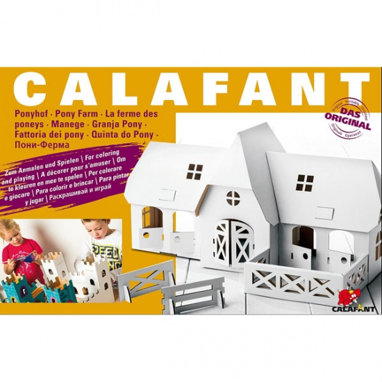 Calafant Vouwset level 3 large: Manege