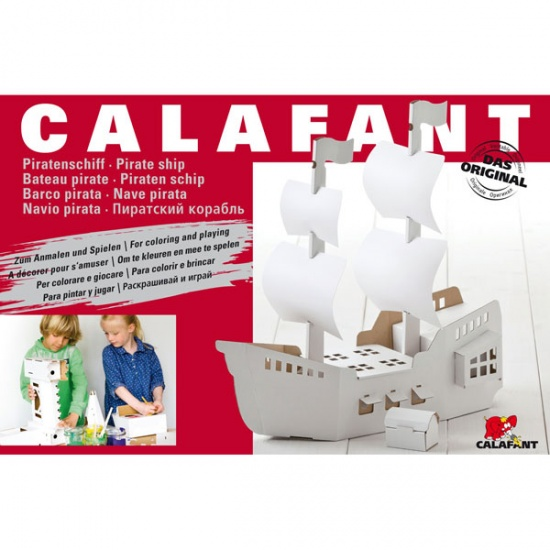 Calafant Vouwset Level 3 large: Piratenschip