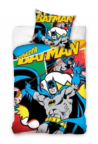 Carbotex Dekbedovertrek Batman 160 x 200 cm kopen