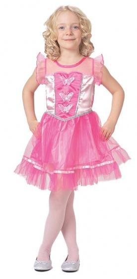 Caritan verkleedjurk prinses meisjes roze 216604