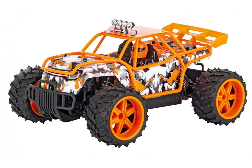 Carrera actievoertuig Buggy 2,4 GHz 1:16 oranje/zwart 2 delig