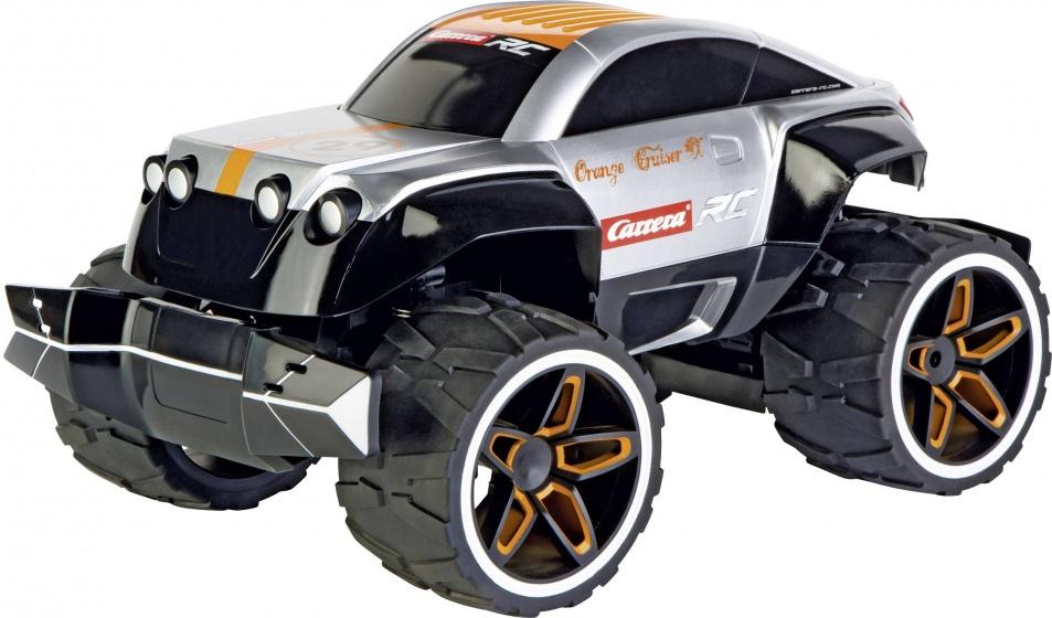 Carrera bestuurbare monstertruck Orange Cruiser grijs 34 cm
