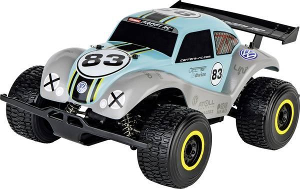 Carrera bestuurbare VW Beetle 1:18 RC lichtblauw