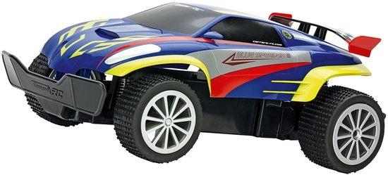 Carrera Blue Speeder 2 RC raceauto blauw lengte 1:16