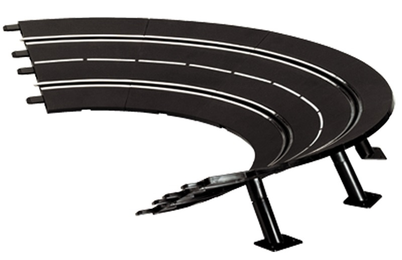 Carrera 20020574 Evolution, DIGITAL 132, DIGITAL 124 Steile bochten 1-30° 6 stuks