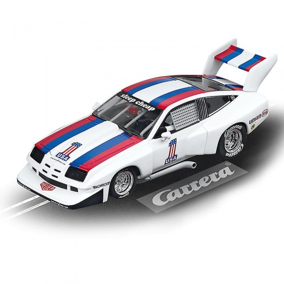 Carrera Evolution racebaan auto Chevrolet Dekon Monza wit