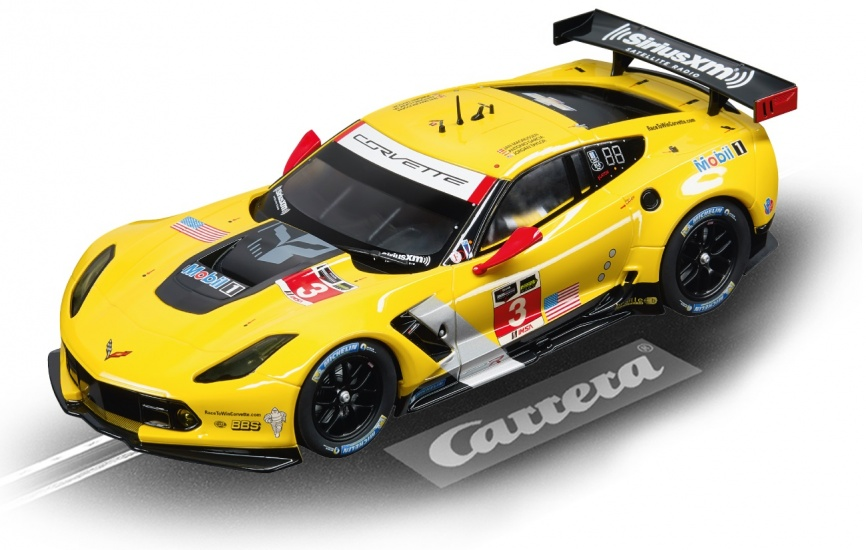Carrera Digital 124 racebaan auto Chevrolet Corv. C7.R No.03