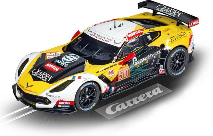 Carrera Digital 124 racebaan auto Chevrolet Corv. C7.R No.50