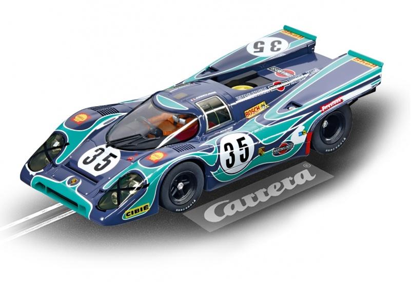 Carrera Digital 124 racebaan auto Porsche 917 K Martini Int.