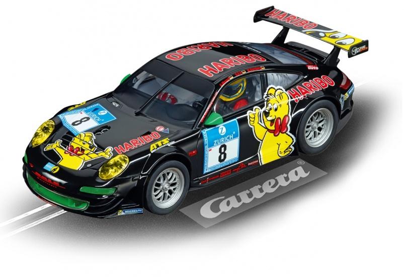 Carrera Digital 124 racebaan auto Porsche GT3 Haribo Racing