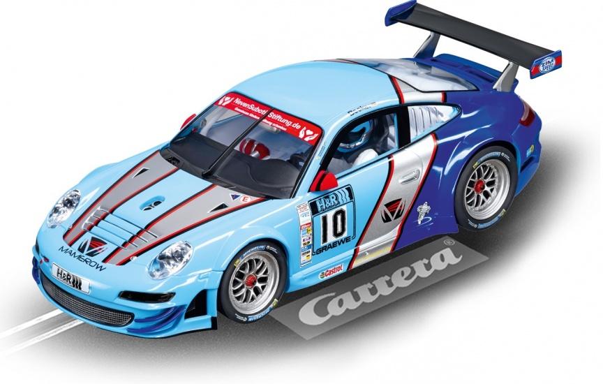Carrera Digital 124 racebaan auto Porsche GT3 RSR Team Mamerow