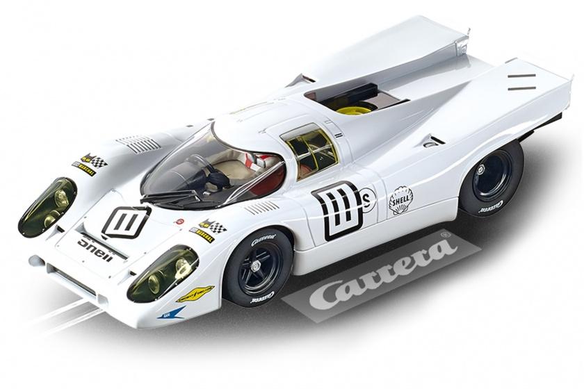Carrera Digital 124 racebaanauto Porsche 917K 1:24 wit