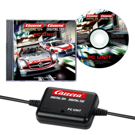 Carrera Digital 124 Software voor de race coördinatie