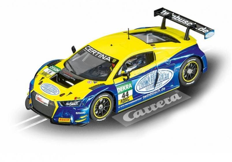 Carrera Evolution Audi R8 LMS 1:32 geel/blauw