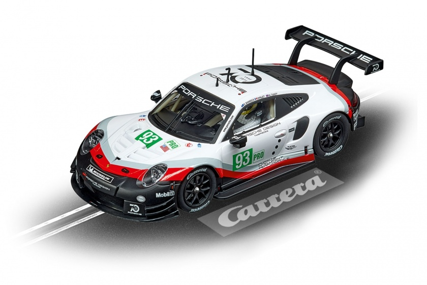 Carrera Digital 132 Porsche 911 RSR racebaanauto 1:32 zwart