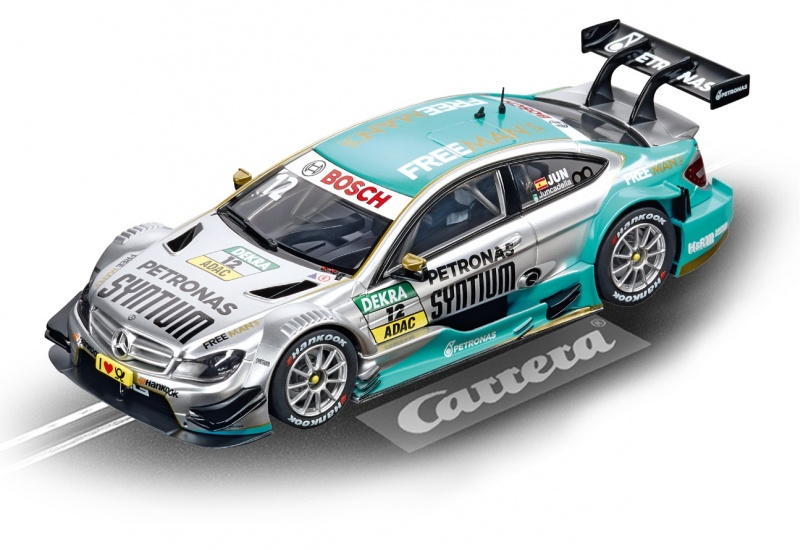 Carrera Digital 143 racebaan auto AMG Mercedes C Coupe No.12