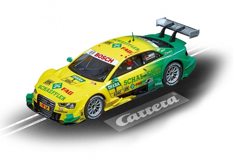 Carrera Digital 132 racebaan auto Audi A5 DTM M.Rockenfeller