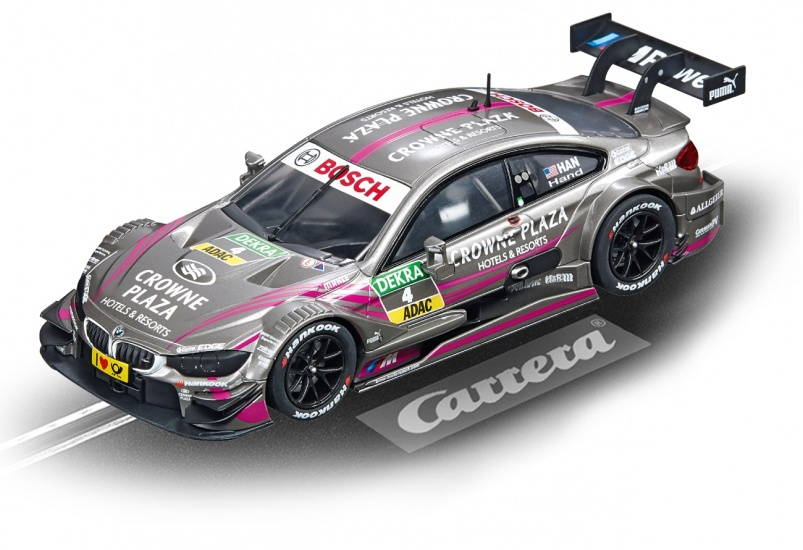 Carrera Digital 132 racebaan auto BMW M4 DTM J.Hand No.04