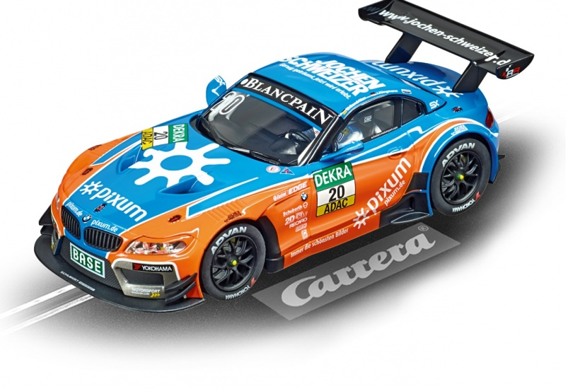 Carrera Digital 132 racebaan auto BMW Z4 GT3 Schubert No.20